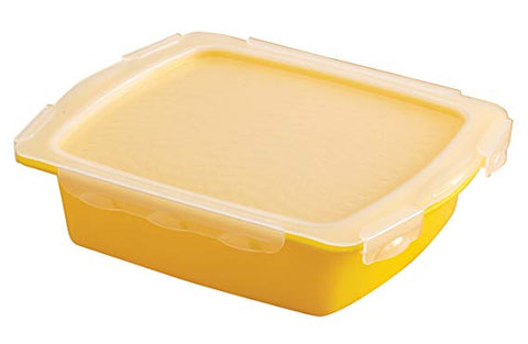 Mister Barbecue Mini Flip & Flavor Marinade Tray, Yellow 40248X