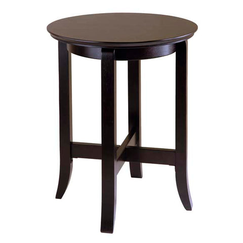Winsome Wood Toby End Table Espresso finish.