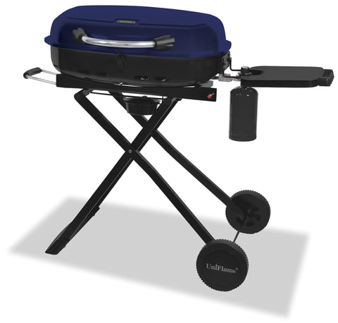 Blue Rhino LP GAS Grill, UniFlame Pier 54 Home and Outdoor.Easy to transport with wheels