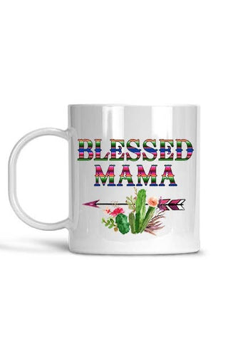 Matty + Lux Blessed Mama Coffee Cup Mug