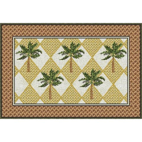 Colonial Palms Placemat set of 4
