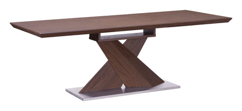JAQUES EXTENSION TABLE WALNUT