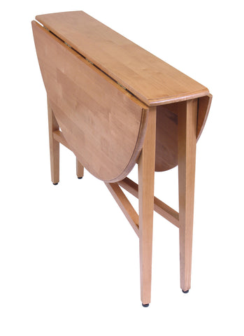 "Hannah Round 42"" Double Drop Leaf Table"