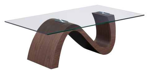 ST LAURENT COFFEE TABLE WALNUT