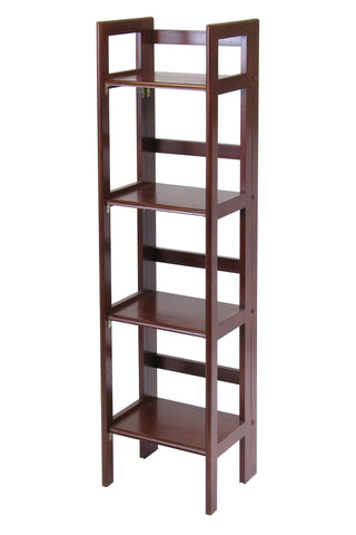 Terry Folding Bookcase Antique Walnut