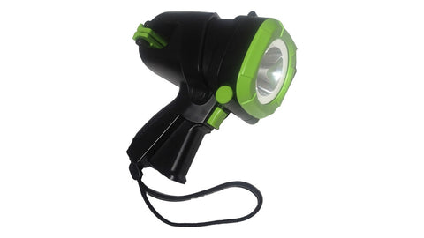 Blackfire spotlight Camping, Night Fishing, Search and Rescue,Tough, Dependable,versatile, and rugged. www.pier54homeandoutdoor.com