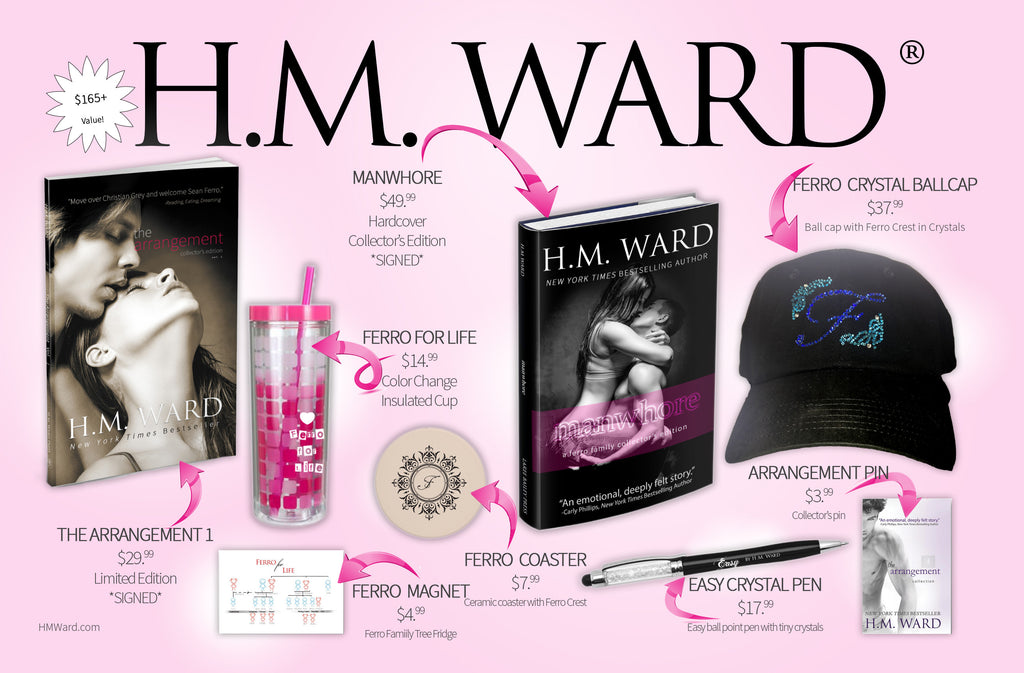 H.M. Ward FLIRT Book Box (Deluxe Bi-annual Subscription)