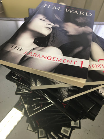 *Signed* THE ARRANGEMENT 6 by H.M. Ward