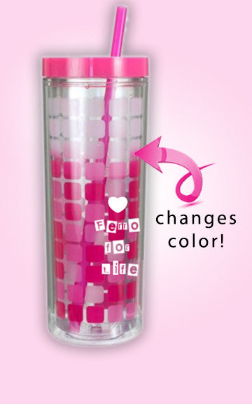 'Ferro for Life' Color Change Insulated Tumbler/ Cup