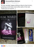 *Signed* Hardcover of MANWHORE 1-3 by H.M. Ward