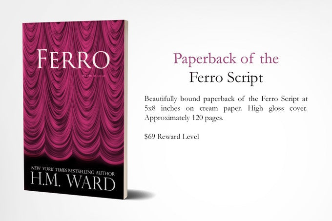 PAPERBACK EDITION OF THE FERRO SCRIPT (Kickstarter)