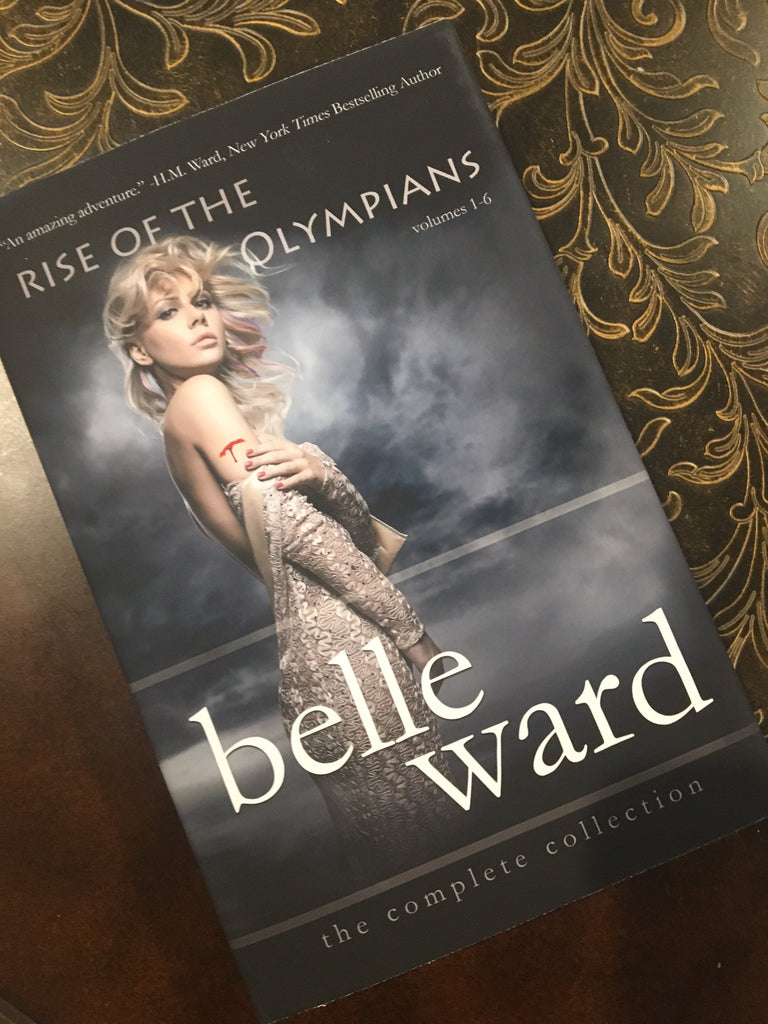 *SIGNED* Paperback RISE OF THE OLYMPIANS by Belle Ward