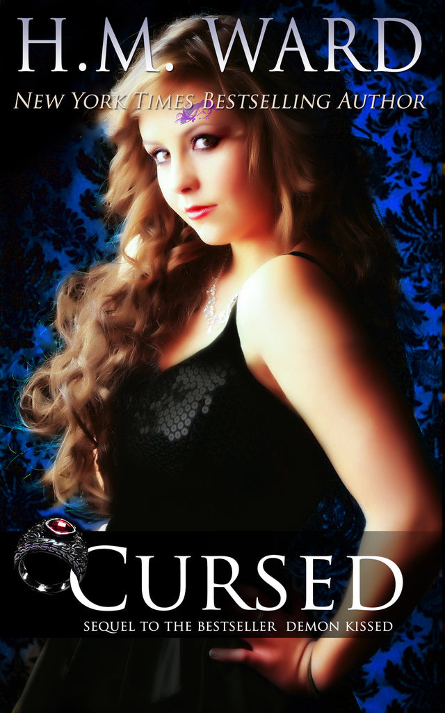 *Signed* CURSED (Demon Kissed 2) by H.M. Ward