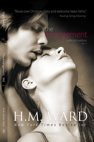 *Signed* Paperback of OVER YOU by H.M. Ward