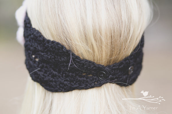 Crochet Lace Headband