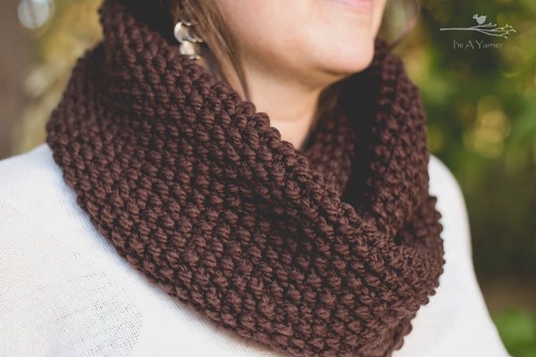 Brown Winter Scarf