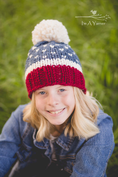 Red White and Blue Hat