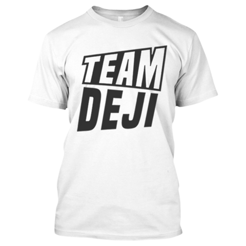 Team Deji White T-Shirt