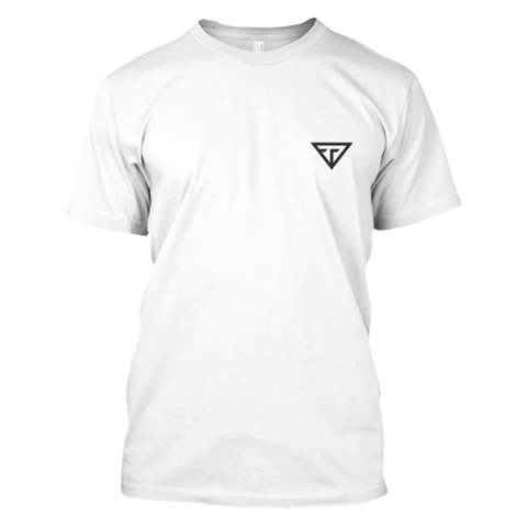 New Logo Tank White T-Shirt