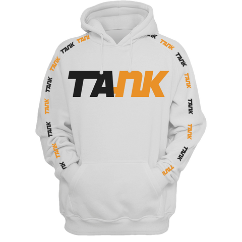 Limited Edition Tank White Hoodie