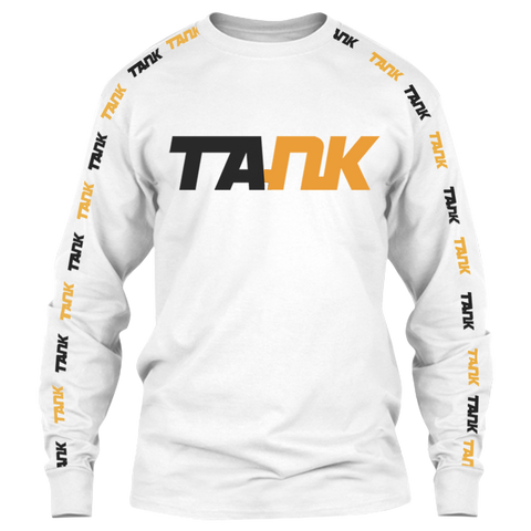 Limited Edition Tank White T-Shirt - Long Sleeve