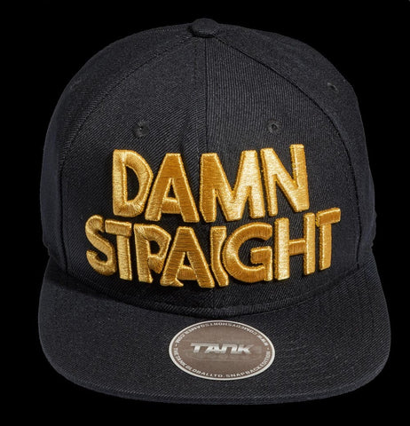 Damn Straight - Black/Gold