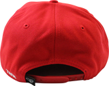 Tank Snapback  –  Red/White