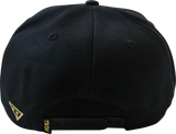 Limited Edition Tank Snapback – Black/Gold