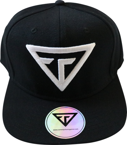 New Logo Tank Snapback – Black/White