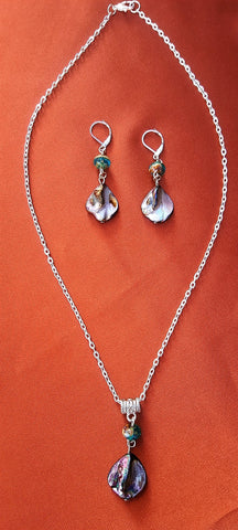Earring & Pendant Sets - The Mountain Dragonfly