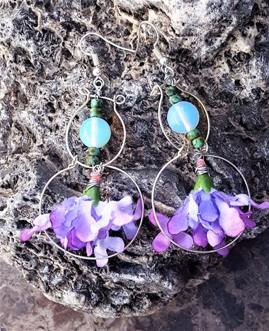 Earrings - The Mountain Dragonfly