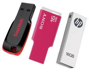 USB and Pen Drive