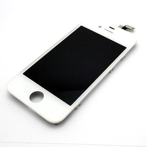iphone 4s LCD Display Touch Screen Digitizer Assembly White -  - 1