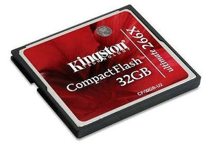 Kingston 32GB 266x Ultimate Compact Flash CF Memory Card 32 GB -  - 1