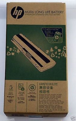 ORIGINAL LAPTOP BATTERY HP COMPAQ Mu06 CQ42 CQ43 CQ430 CQ62 CQ72 G62 G72 DM4 DV6 -  - 1