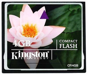 Kingston 4GB Compact Flash CF Memory Card CF -  - 2