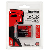 Kingston 16GB 266x Ultimate Compact Flash CF Memory Card 16 GB -  - 2