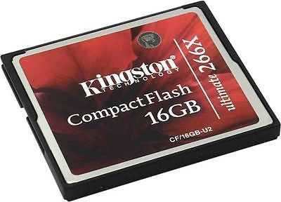 Kingston 16GB 266x Ultimate Compact Flash CF Memory Card 16 GB -  - 1