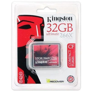Kingston 32GB 266x Ultimate Compact Flash CF Memory Card 32 GB -  - 2