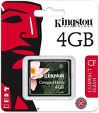 Kingston 4GB Compact Flash CF Memory Card CF -  - 1