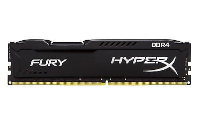 8GB Kingston HyperX Fury DDR4 memory 2133 MHz DDR4 CL14 288 Pin-DIMM Desktop RAM -  - 1