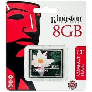 Kingston 8GB Compact Flash Card CF Type 1 -  - 1