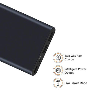 Mi 2i 10000 mAh Power Bank Fast Charging, 18W Lithium Polymer - (Open Box)