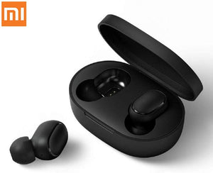 Redmi airdots Headphones BT 5.0 TWS with Wireless Charging case 12hrs Battery Life (Black)