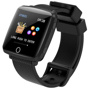 Lenovo Carme Smartwatch  (Black Strap, Regular) HW25P (Open Box)