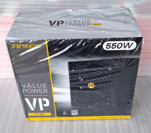 Antec VP550P Plus 550 Watt 80 Plus Non-Modular Gaming Power Supply