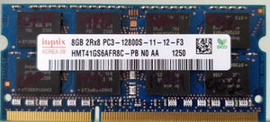 Hynix 8GB DDR3 RAM SO-DIMM 204pin PC3L-12800S HMT41GS6AFR8C-PB NO AA 1250