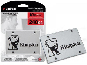 "Kingston SSDNow UV400 2.5"" 120GB, 240GB, 480GB SATA III TLC SSD SUV400S37"