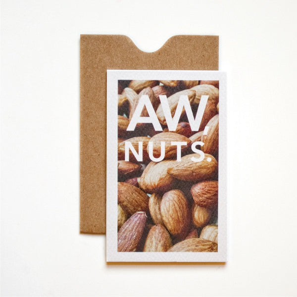 Aw Nuts Mini Card