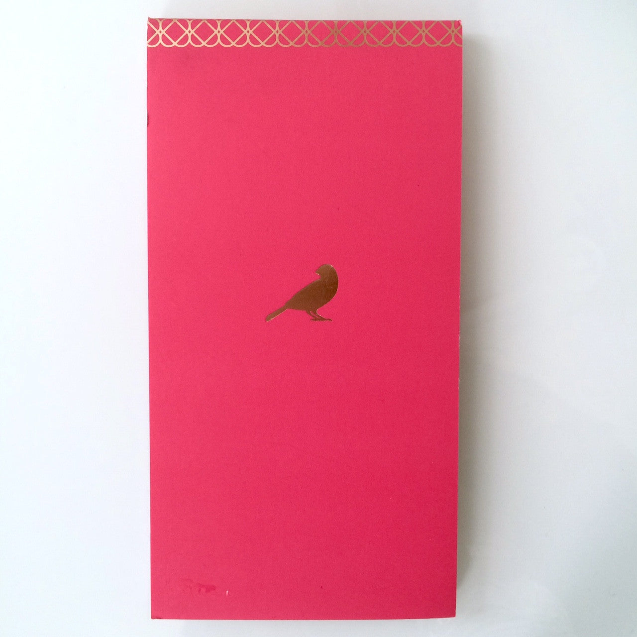 Pink Sparrow Notepad